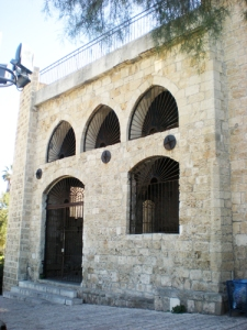 The old architecture in Jaffa.