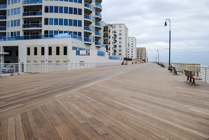 The new boardwalk.