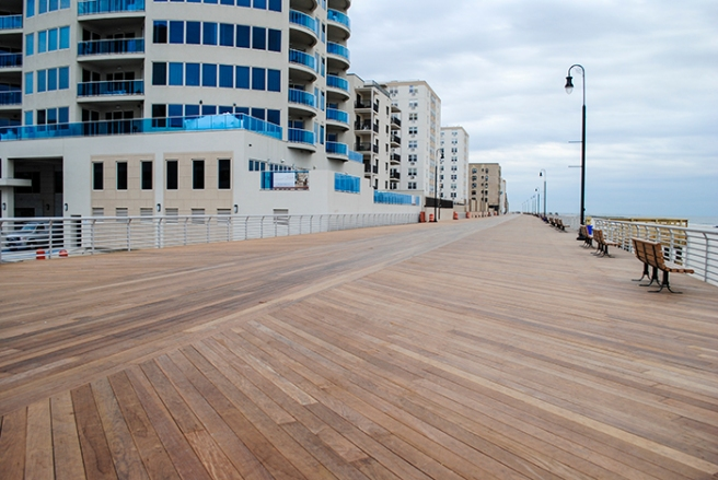 The new boardwalk.