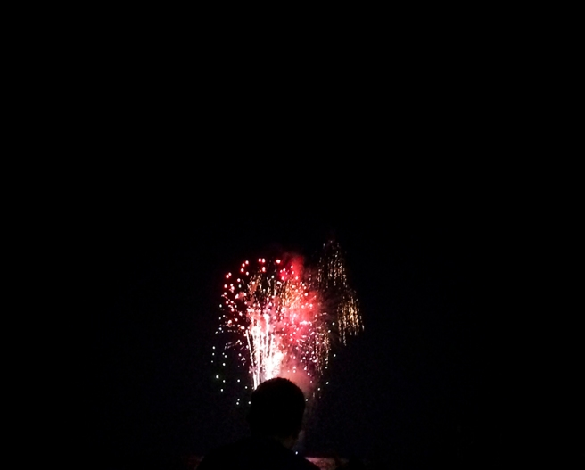 fireworks, beach, ocean, color, colorful, summer, fourth of july, long beach, long island, new york