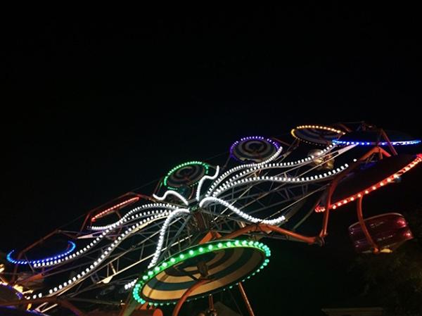 Summertime fair nights.