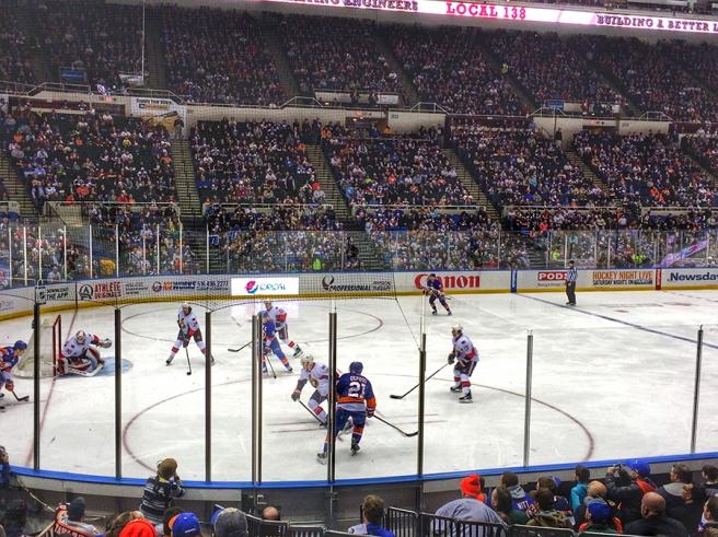 New York Islanders, Nassau Coliseum, Kyle Okposo, March 13, 2015