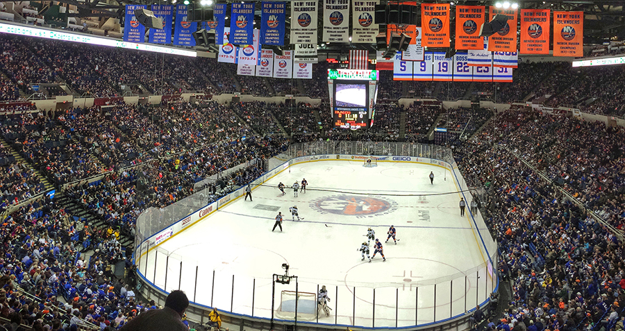 New York Islanders, Nassau Coliseum, March 24, 2015