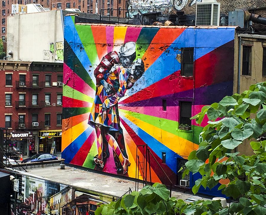 My favorite street art along The High Line