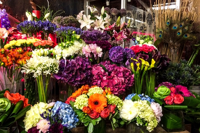 Mrs. Bloom's in the Chelsea Market is one of my favorite shops to visit.