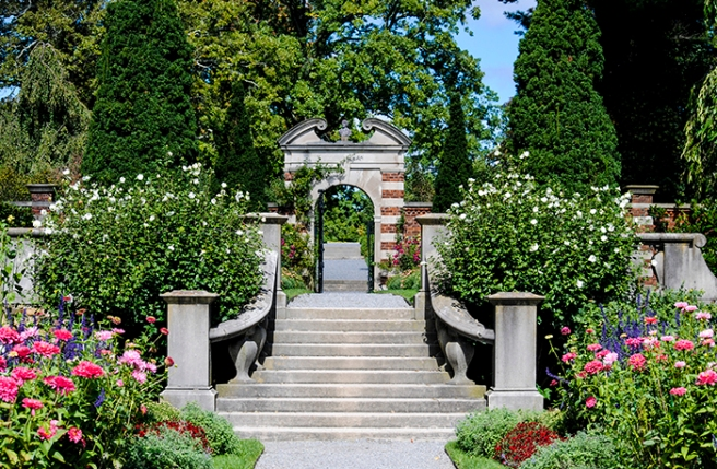 The Walled Garden, Old Westbury Gardens in Old Westbury, NY. Photo by Alyson Goodman.