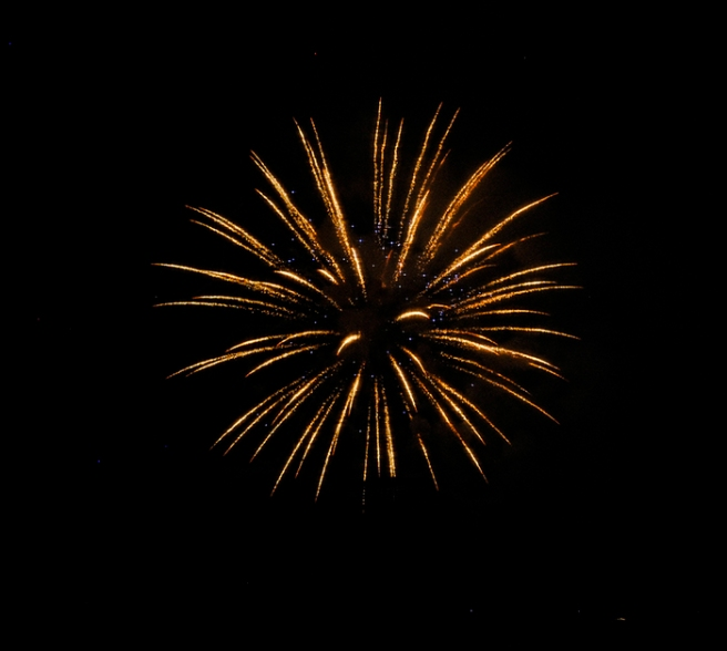 Fireworks in Long Beach, NY. Photograph by Alyson Goodman.