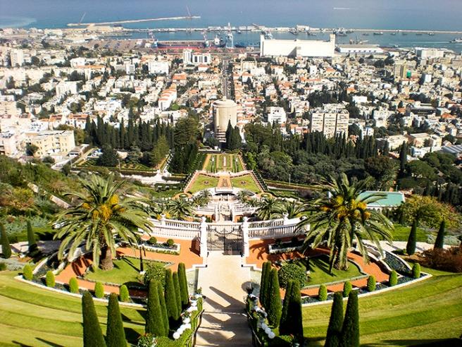 Bahai Gardens in Haifa, Israel. Photo by Alyson Goodman.