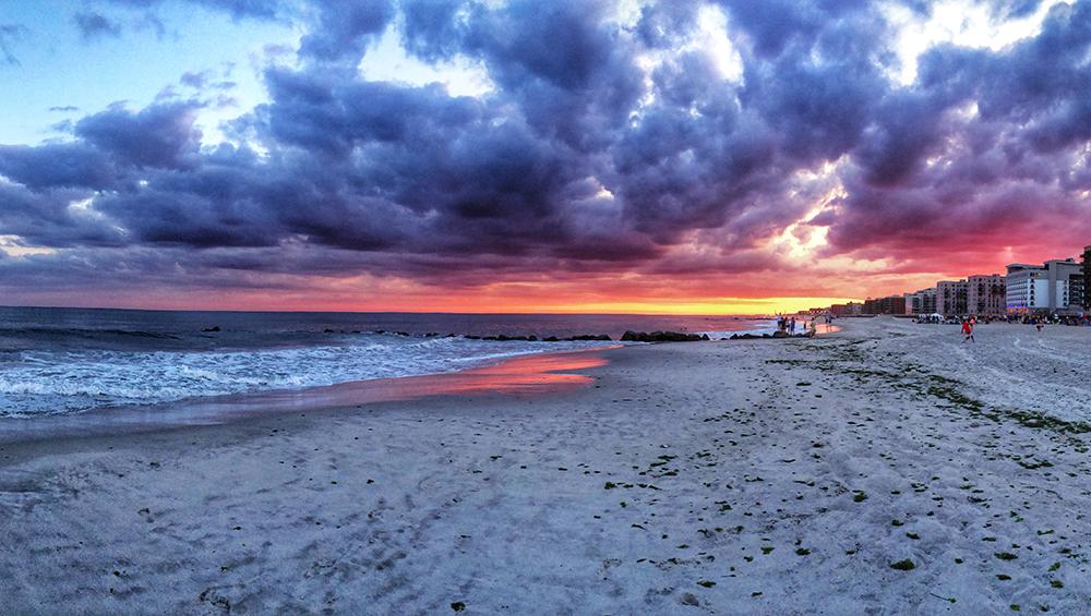 Sunrise in Long Beach, NY. Photo by Alyson Goodman.
