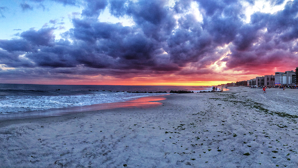 Sunrise in Long Beach, NY. Photo by Alyson Goodman.